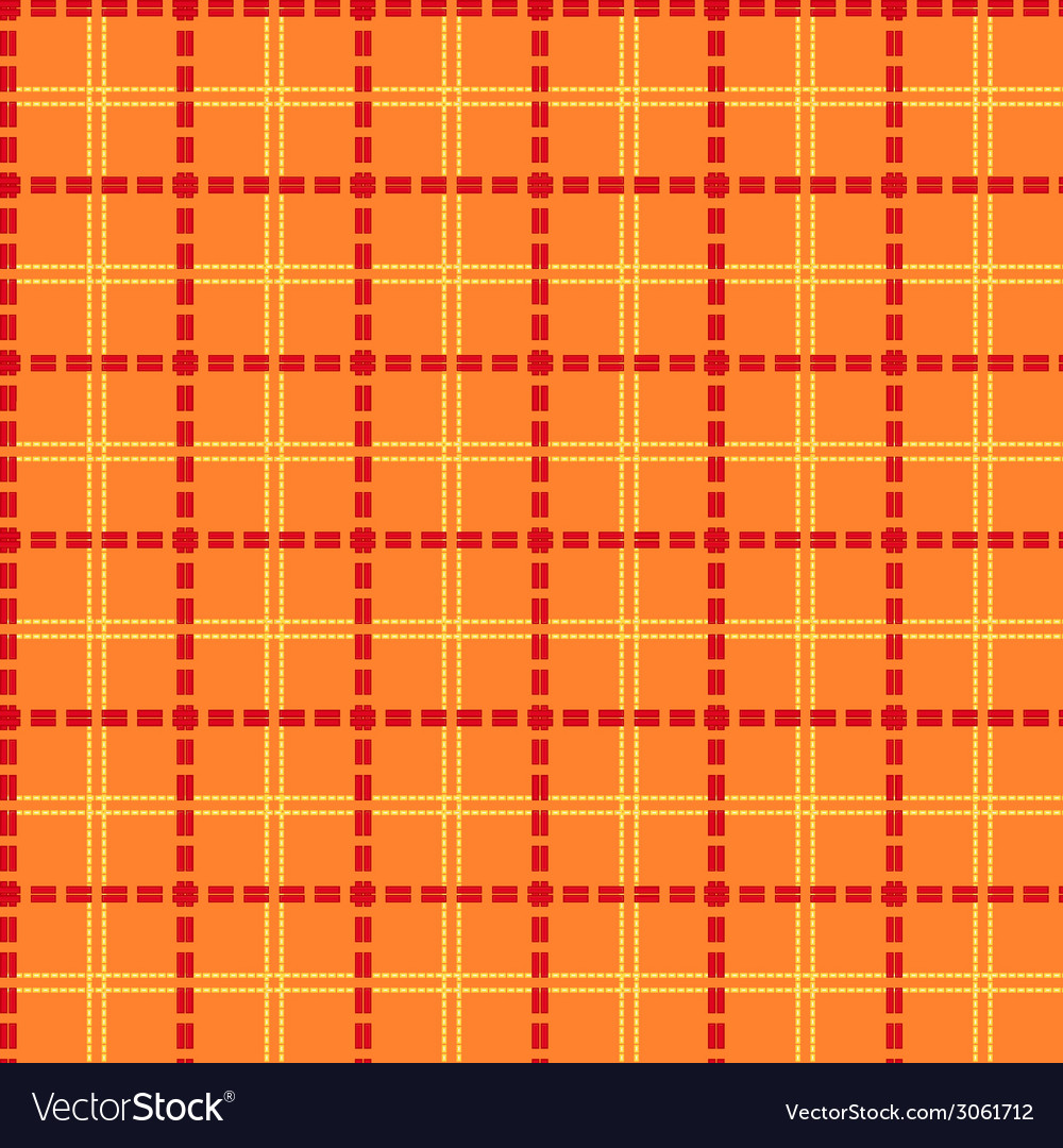 Bright orange seamless mesh pattern vector | Price: 1 Credit (USD $1)