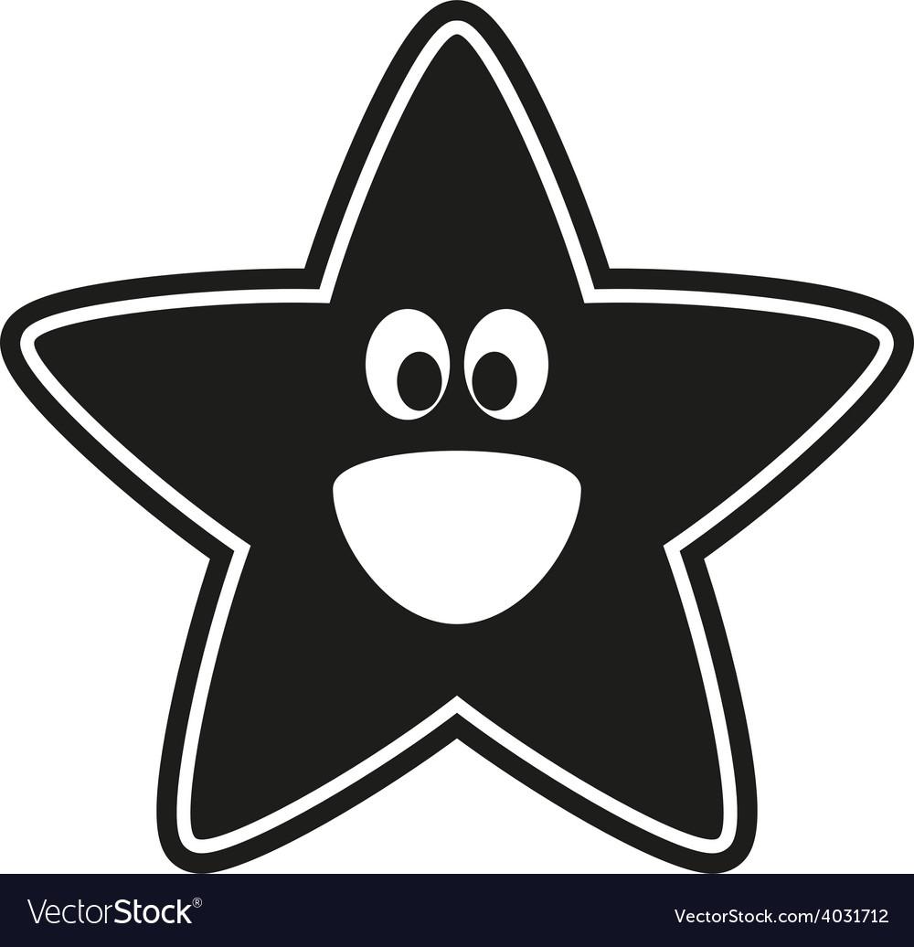 Star stencil to the nursery vector | Price: 1 Credit (USD $1)
