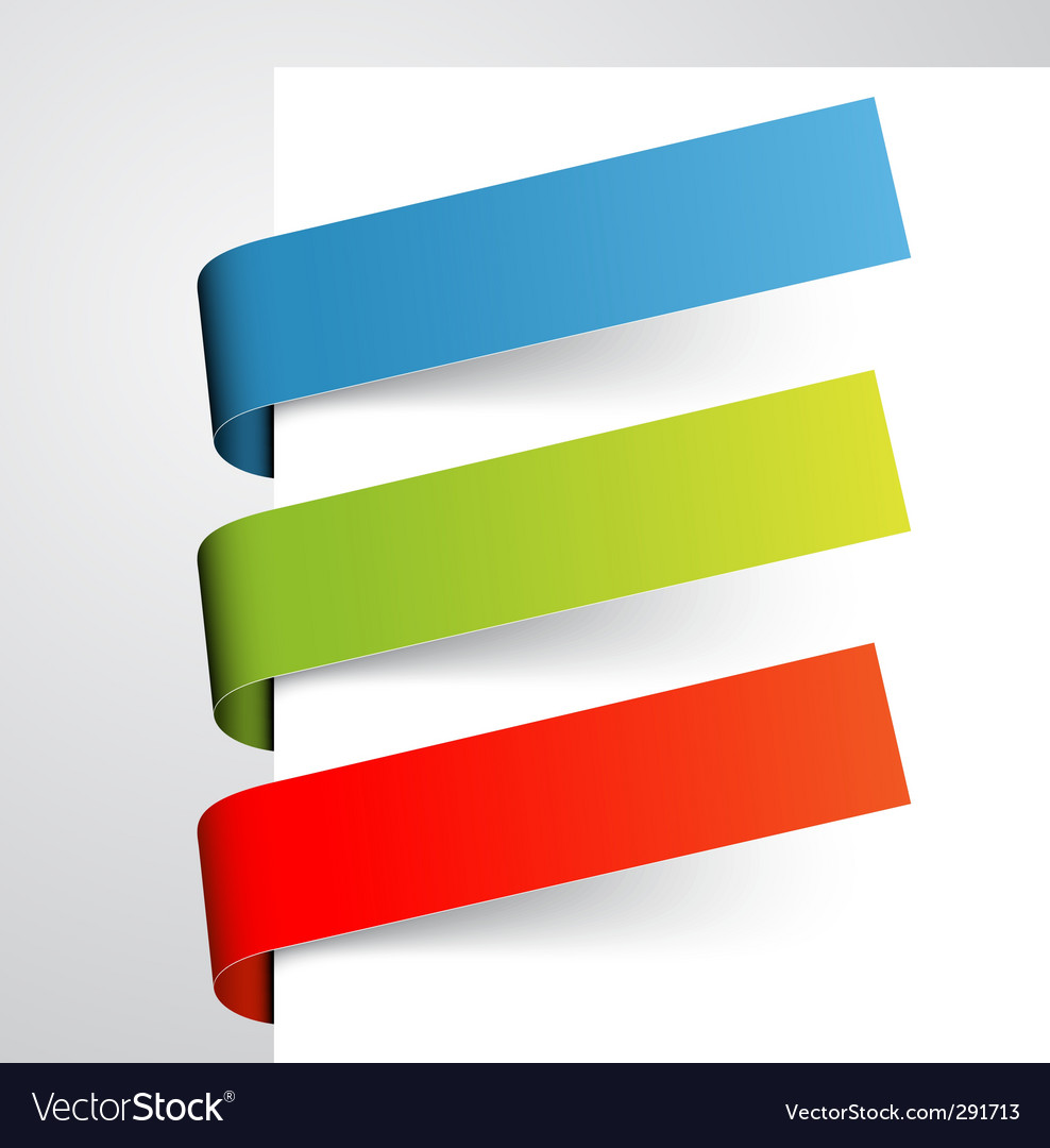 Set of colorful paper tags vector | Price: 1 Credit (USD $1)