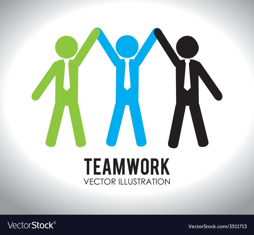 Teamwork design vector | Price: 1 Credit (USD $1)