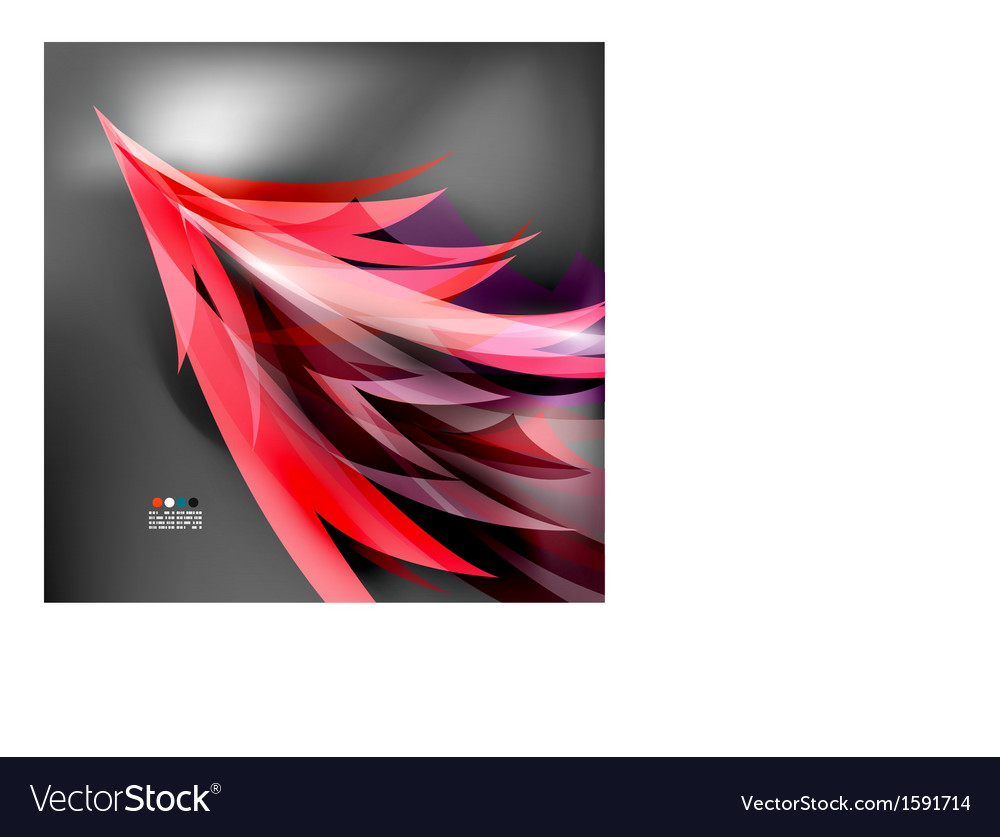 Colorful stylized parrot tail modern background vector | Price: 1 Credit (USD $1)