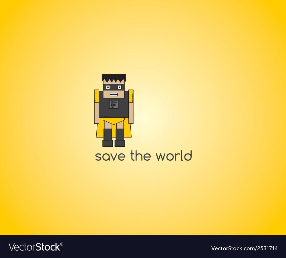 Mini cartoon icon vector | Price: 1 Credit (USD $1)