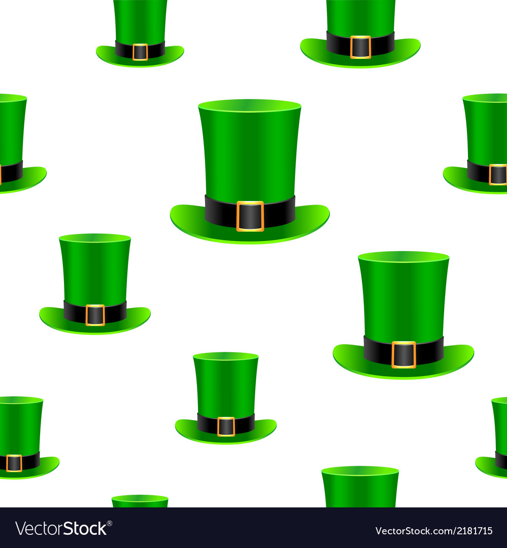 Patrick hat background vector | Price: 1 Credit (USD $1)