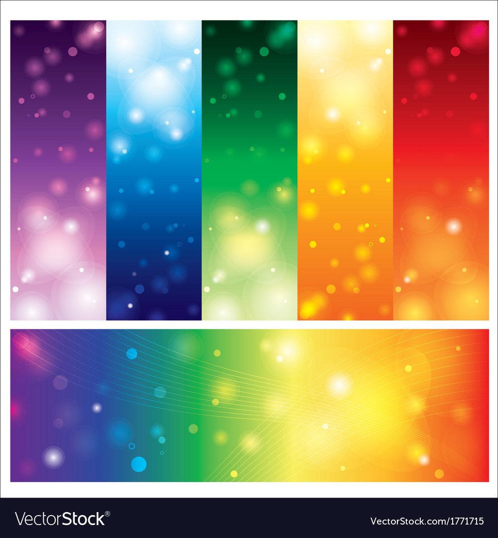 Template card colorful element design vector | Price: 1 Credit (USD $1)