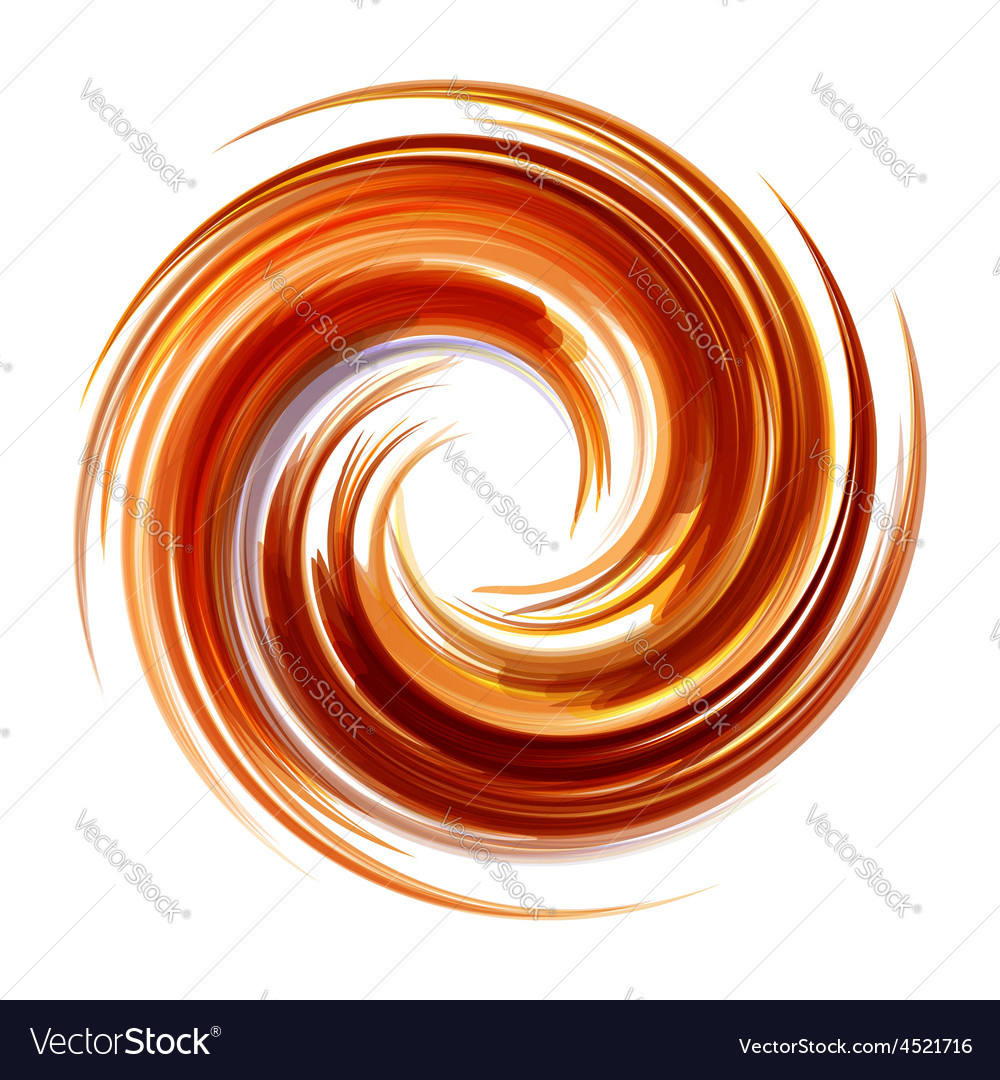 Colorful abstract icon dynamic flow vector | Price: 1 Credit (USD $1)