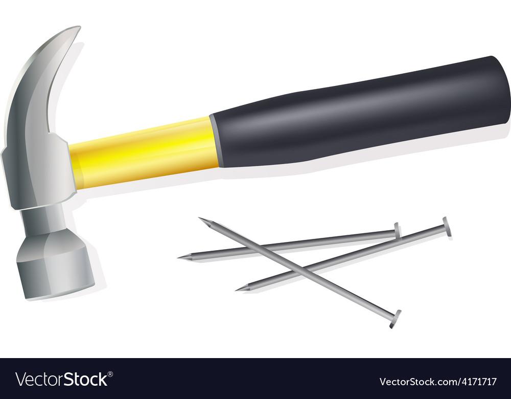 Hammer vector | Price: 3 Credit (USD $3)