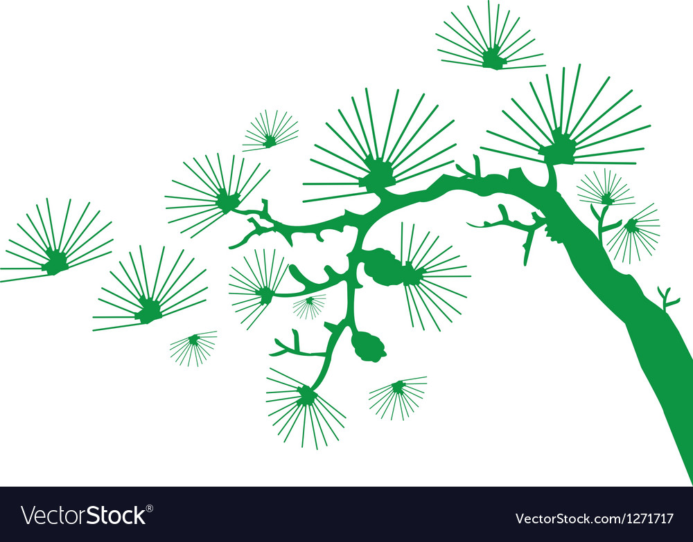 Japanese branch vector | Price: 1 Credit (USD $1)