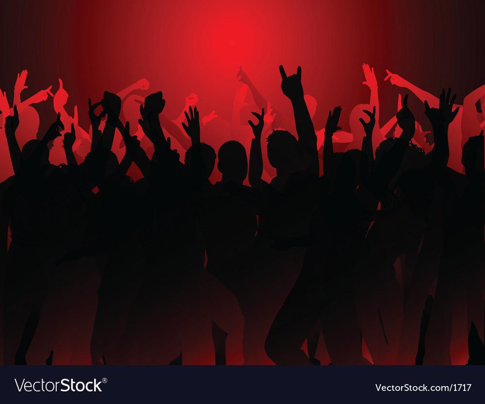 Party crowd vector   Price: 1 Credit (USD $1)