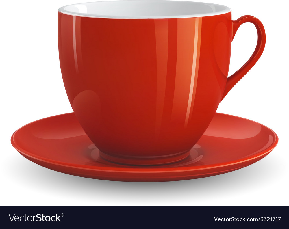 Red cup vector | Price: 3 Credit (USD $3)