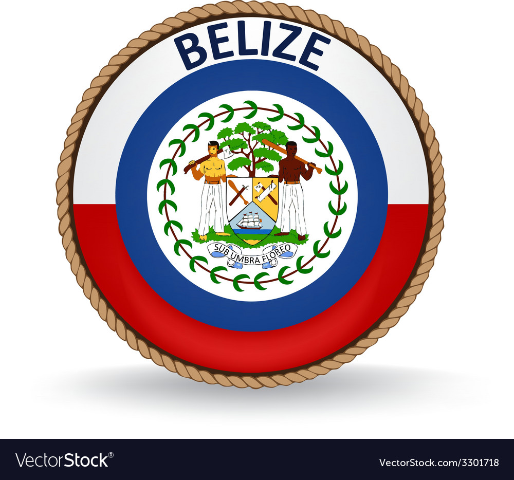 Belize seal vector | Price: 1 Credit (USD $1)