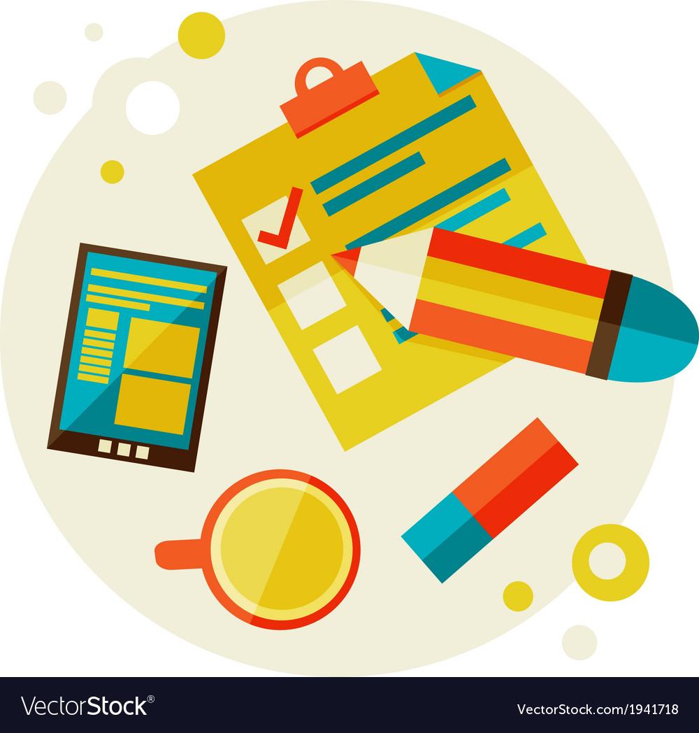 Checklist vector | Price: 1 Credit (USD $1)