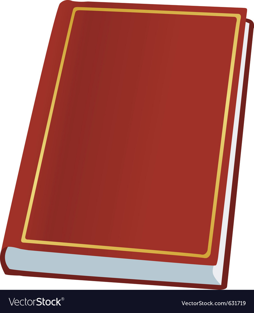 Book on white vector | Price: 1 Credit (USD $1)