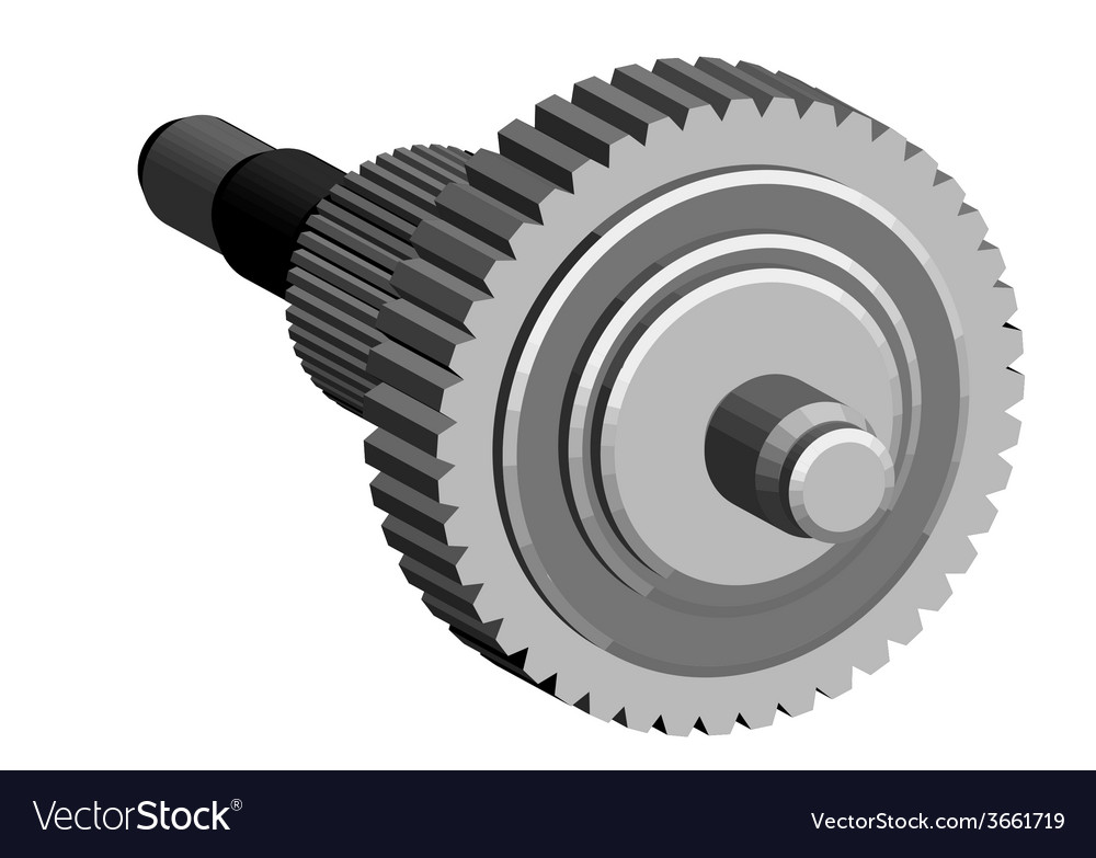 Central gear vector | Price: 1 Credit (USD $1)