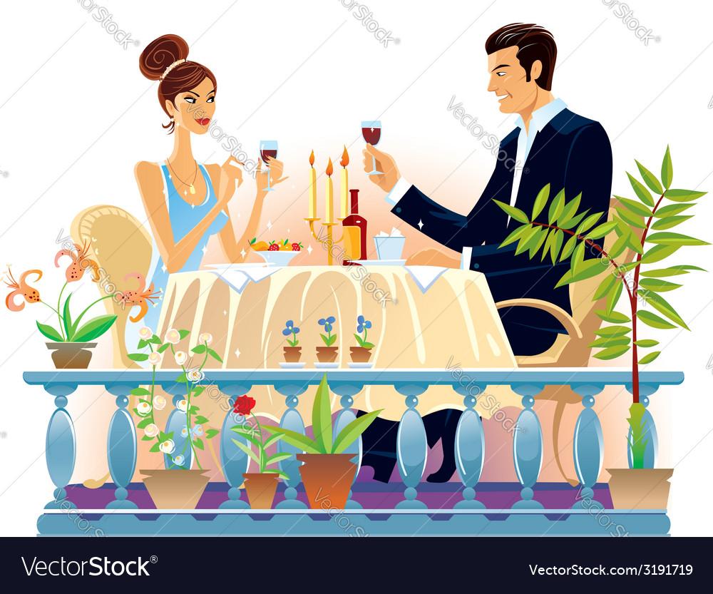 Evening dinner vector   Price: 1 Credit (USD $1)