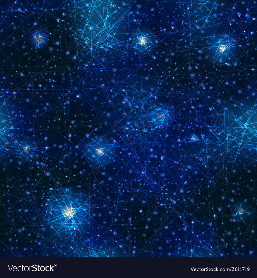Pattern of space night sky vector | Price: 1 Credit (USD $1)