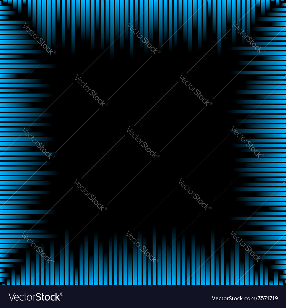 Waveform frame vector | Price: 1 Credit (USD $1)