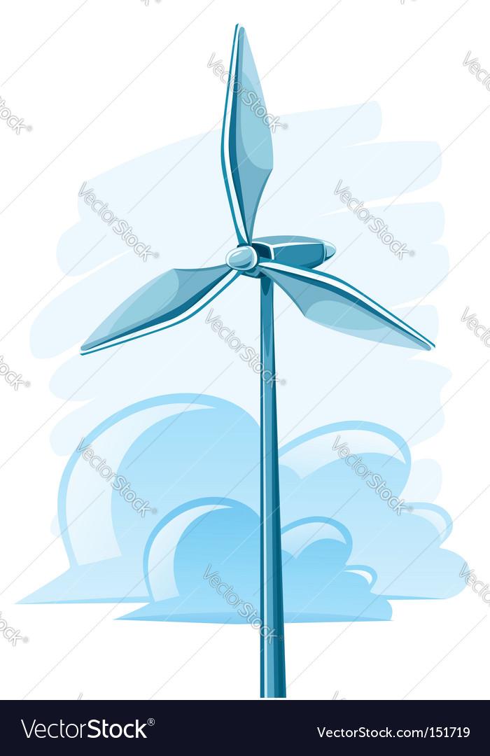 Wind turbines vector   Price: 1 Credit (USD $1)