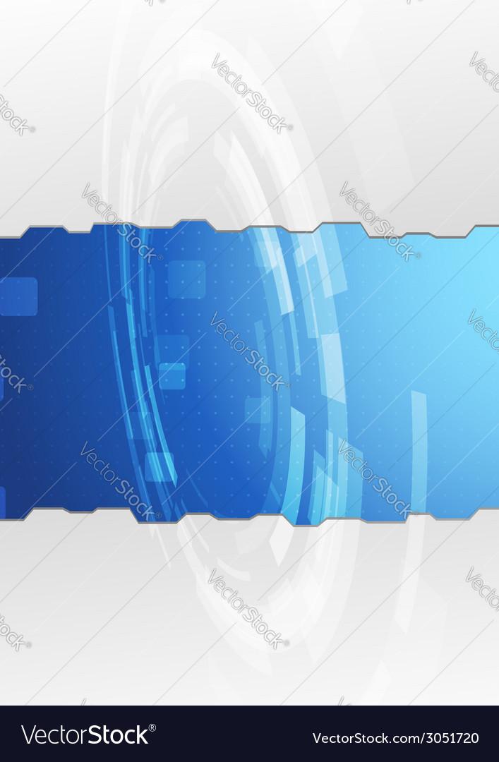 Modern metal folder design - gear vector | Price: 1 Credit (USD $1)