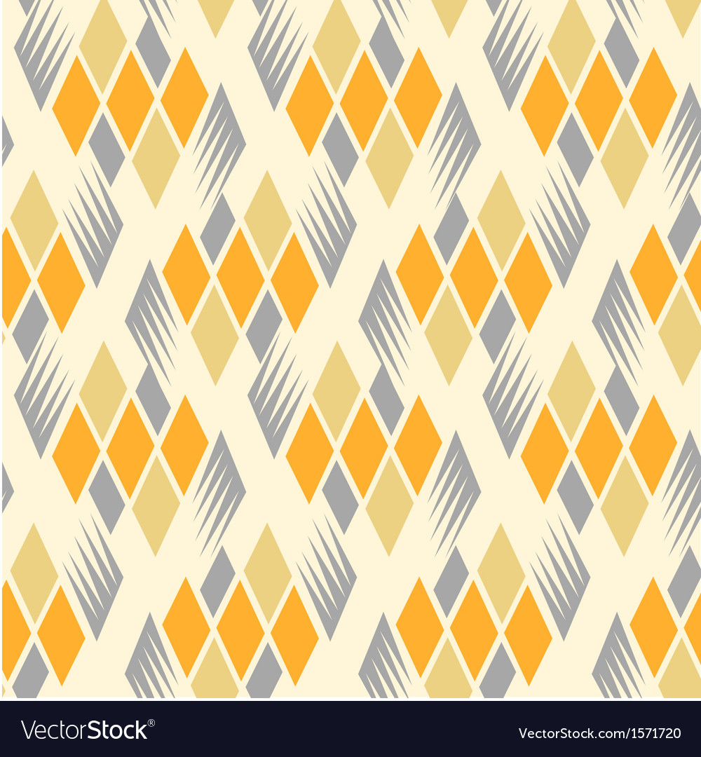 Retro diamond repeat pattern 3 vector | Price: 1 Credit (USD $1)