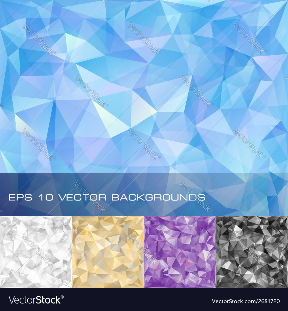 Set of geometric patterns vector | Price: 1 Credit (USD $1)