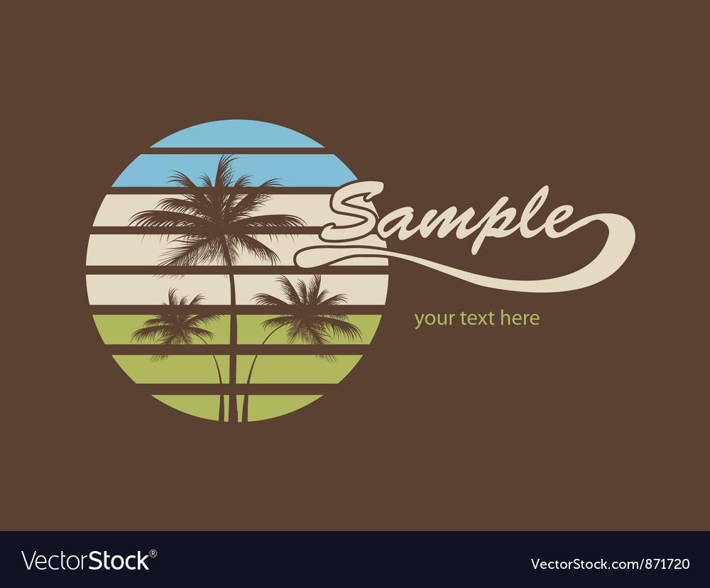 Summer t-shirt design vector | Price: 1 Credit (USD $1)