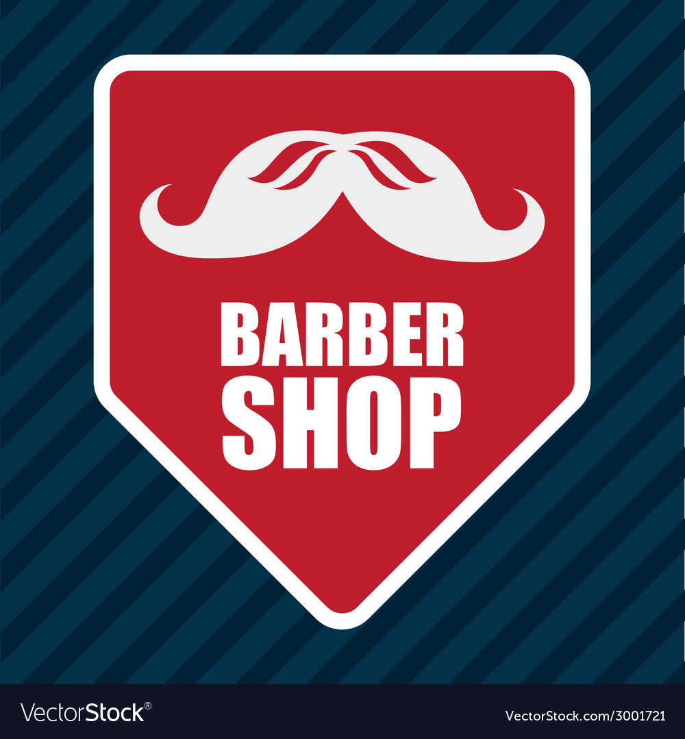 Barber shop design vector | Price: 1 Credit (USD $1)