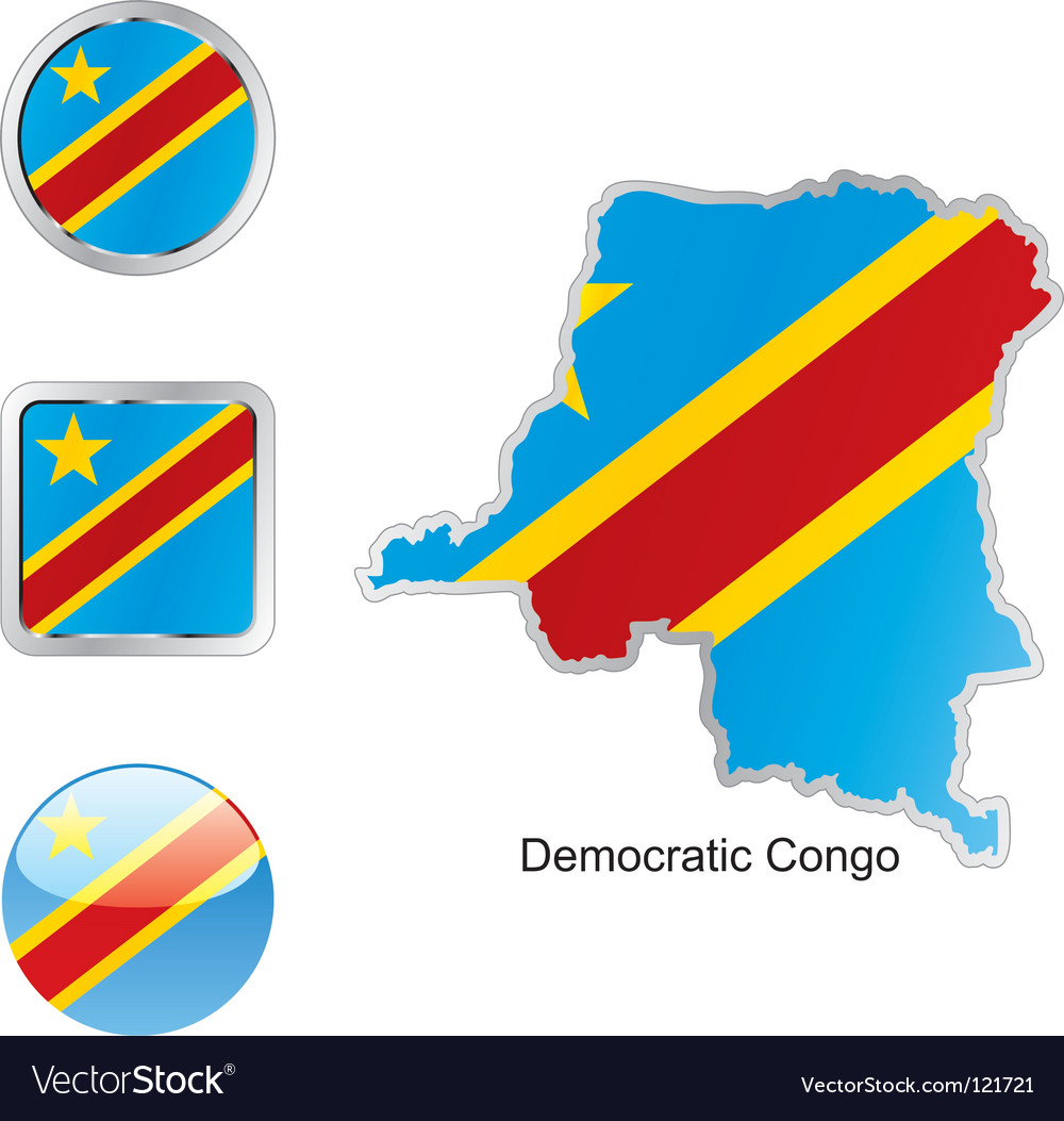 Democratic congo vector | Price: 1 Credit (USD $1)