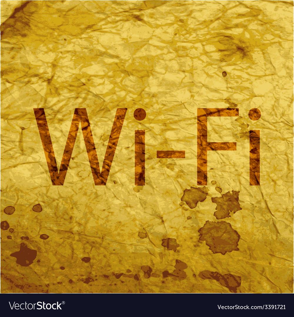 Free wifi icon symbol flat modern web design with vector | Price: 1 Credit (USD $1)
