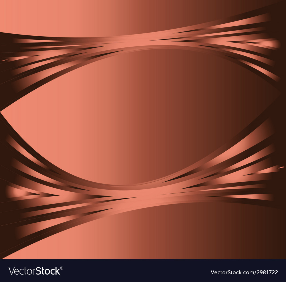 Abstract wave background brown color glowing in da vector | Price: 1 Credit (USD $1)