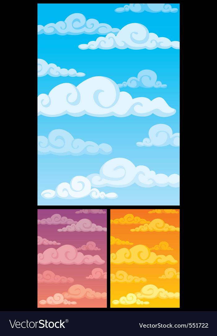 Cloudscape vector | Price: 1 Credit (USD $1)