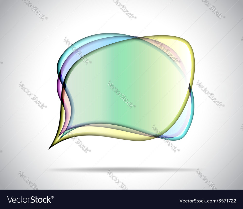 Colorful glass plates vector | Price: 1 Credit (USD $1)