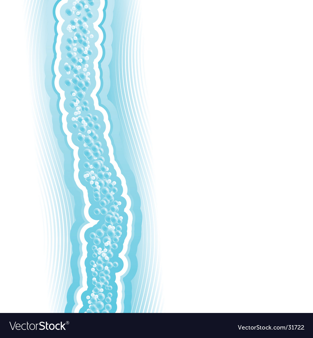 Fresh lined art water flow vector | Price: 1 Credit (USD $1)