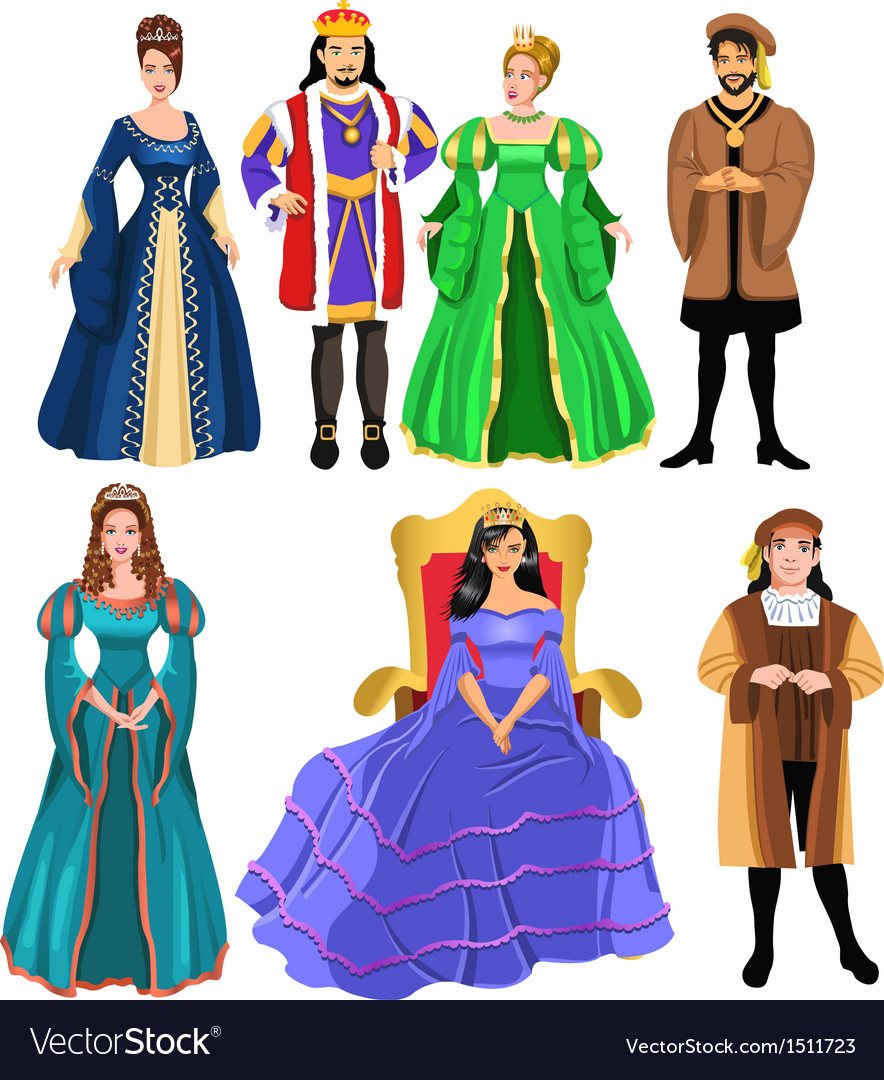Fairytale characters vector | Price: 3 Credit (USD $3)