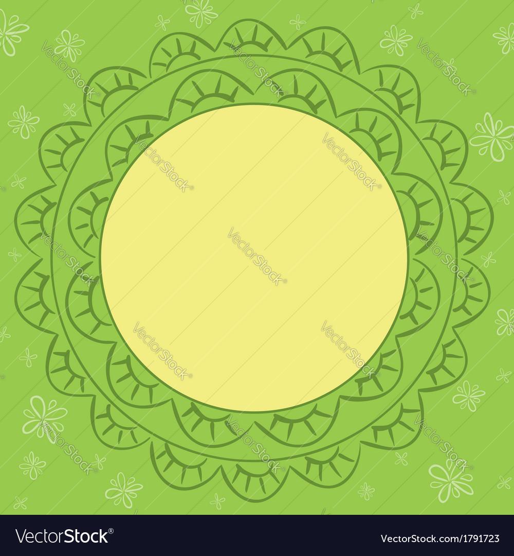 Light green card vector | Price: 1 Credit (USD $1)