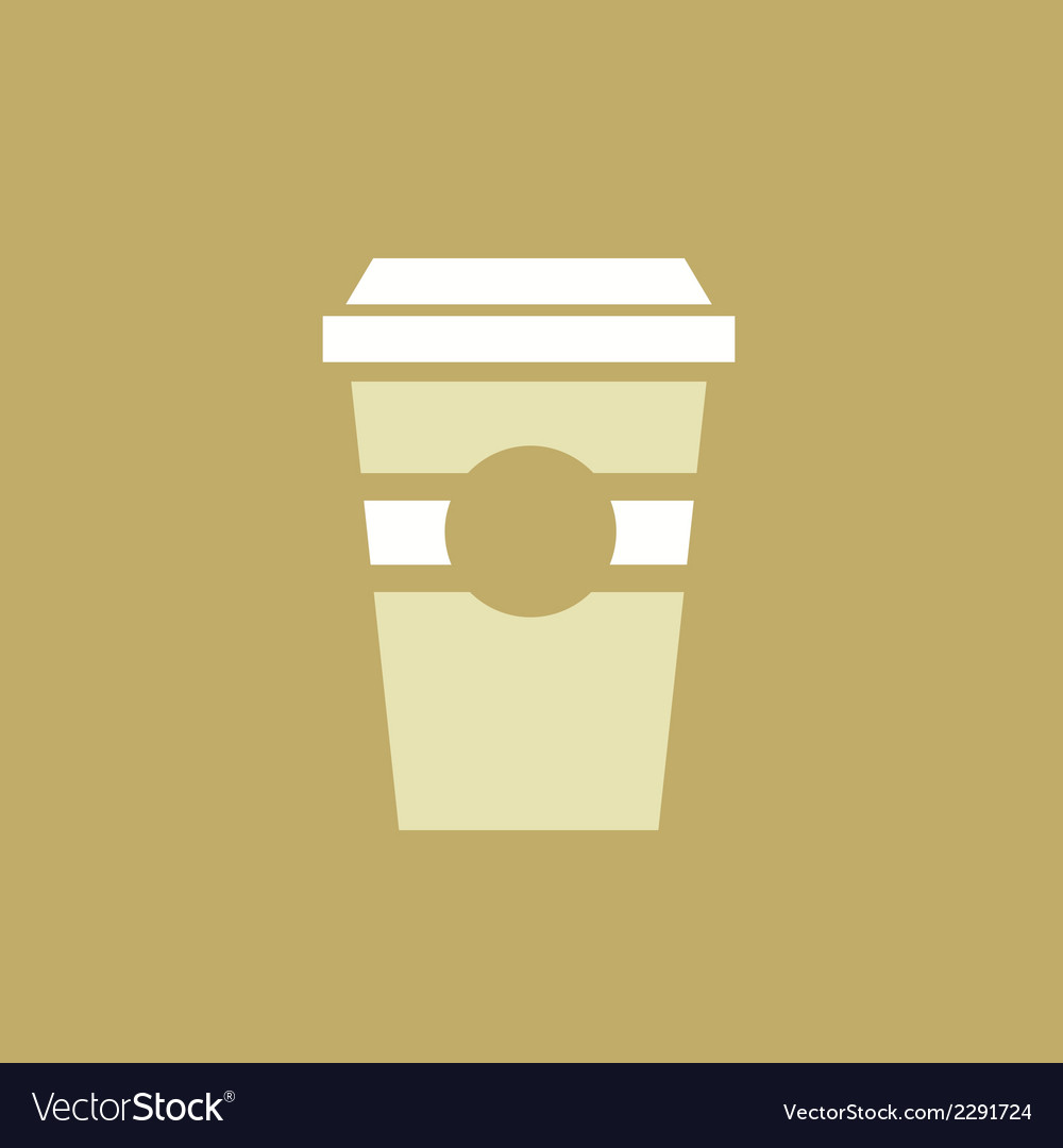 Drink flat icon vector | Price: 1 Credit (USD $1)