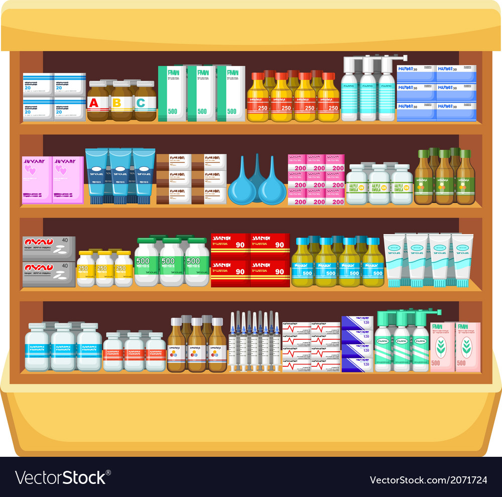 Pharmacy medicine vector | Price: 1 Credit (USD $1)