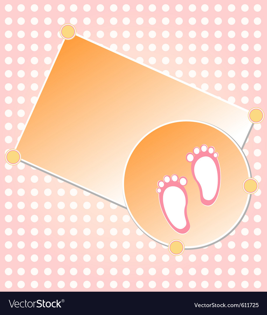 Baby girl arrival vector   Price: 1 Credit (USD $1)