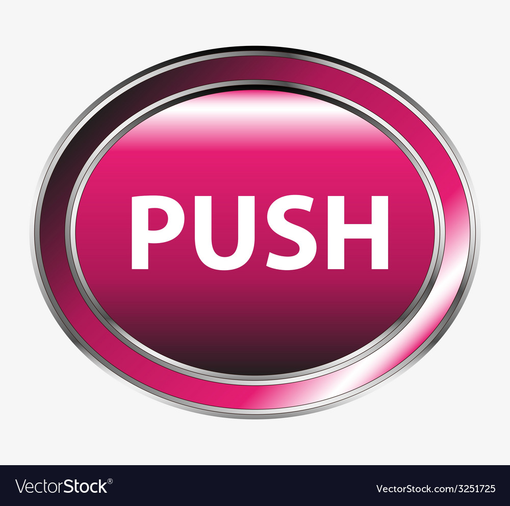 Push button vector | Price: 1 Credit (USD $1)