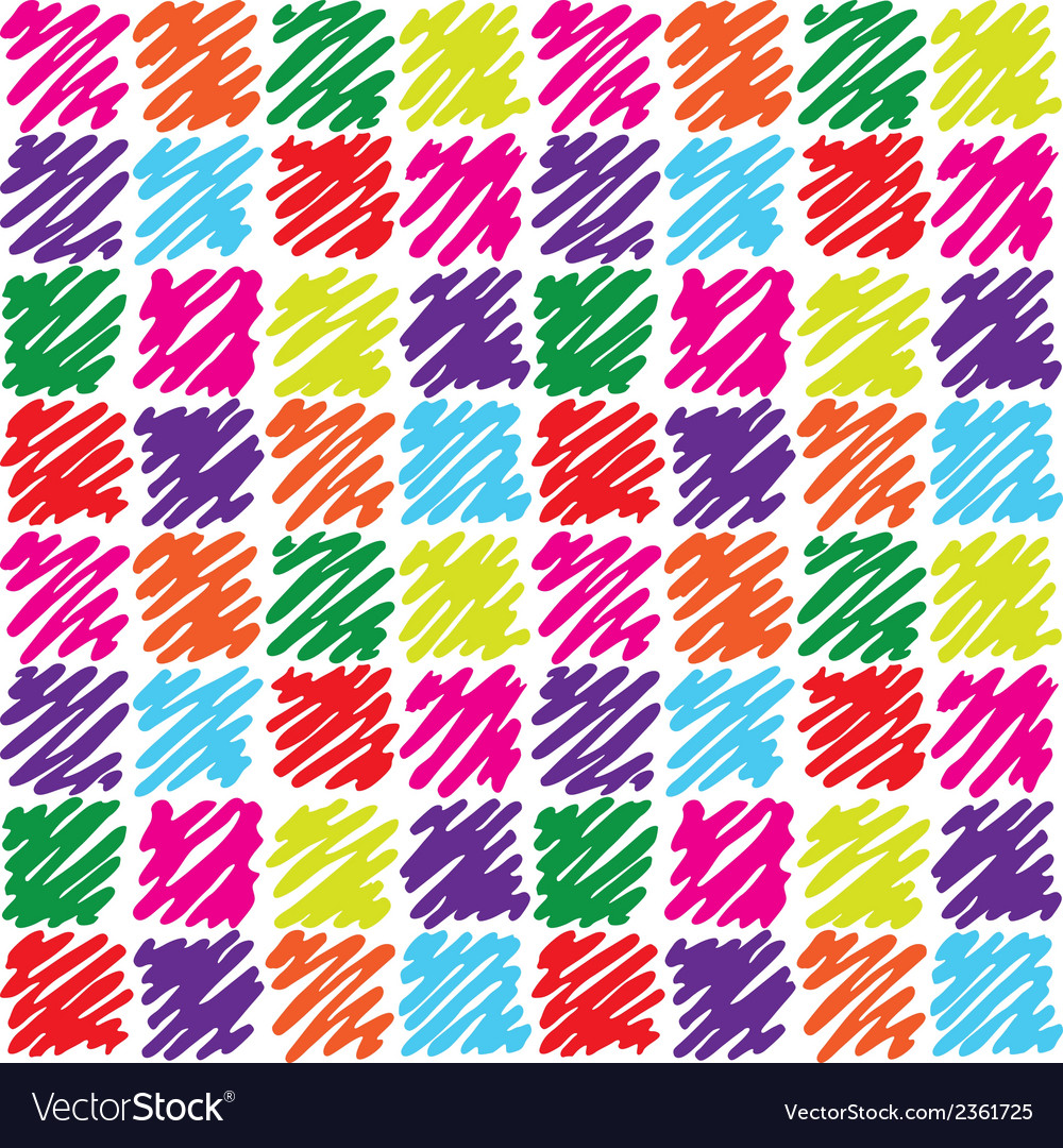 Seamless pattern with dashed squares vector | Price: 1 Credit (USD $1)