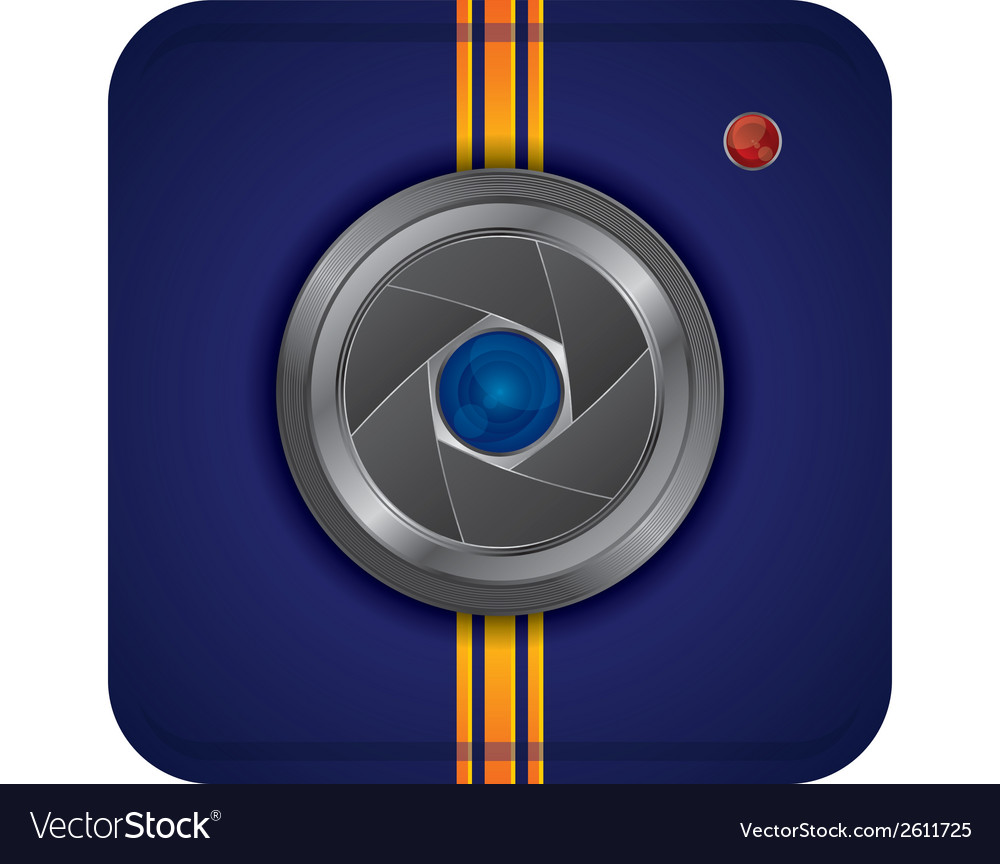 Web cam icon design vector | Price: 1 Credit (USD $1)