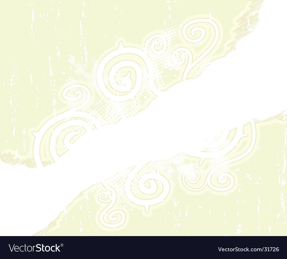 Childish floral spirals scribble background vector   Price: 1 Credit (USD $1)
