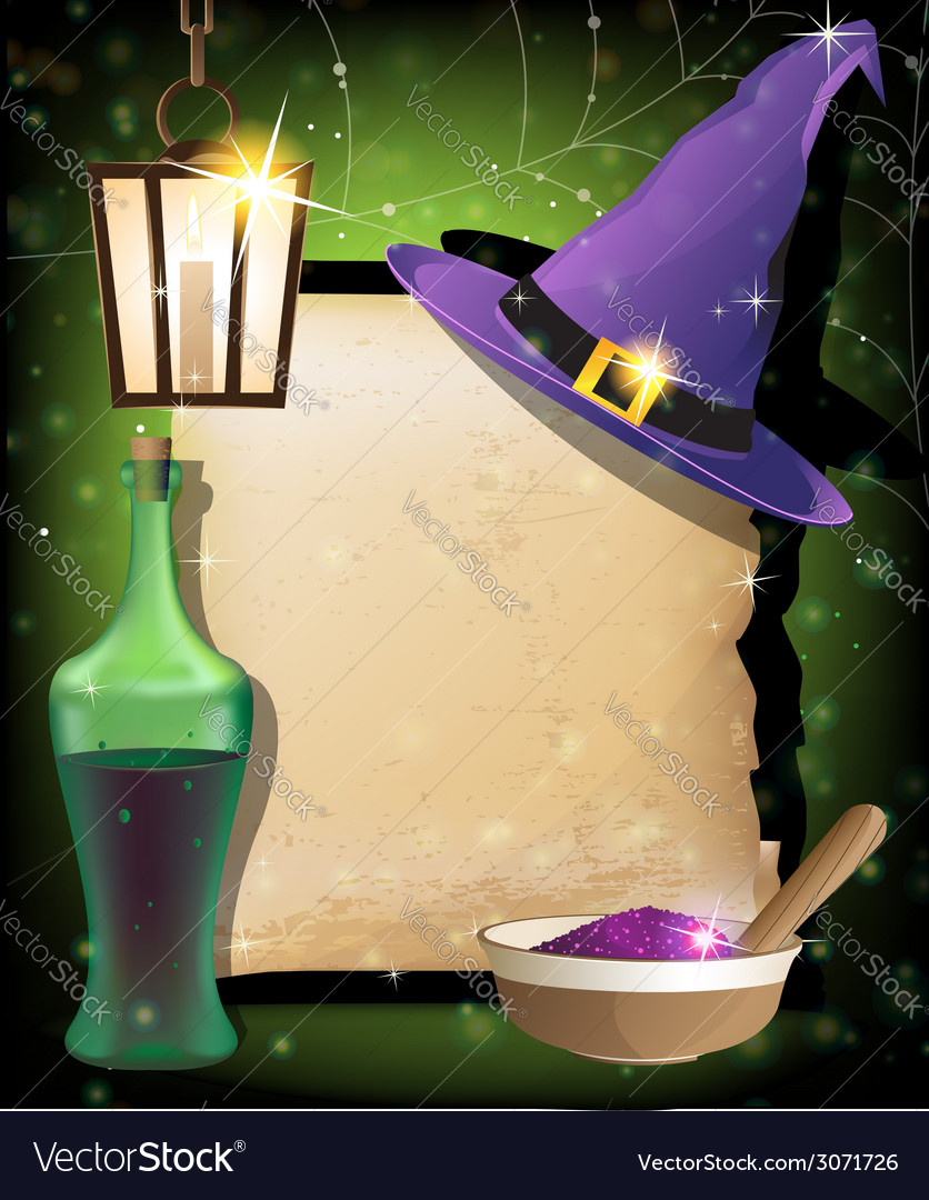Halloween magic accessories vector | Price: 3 Credit (USD $3)