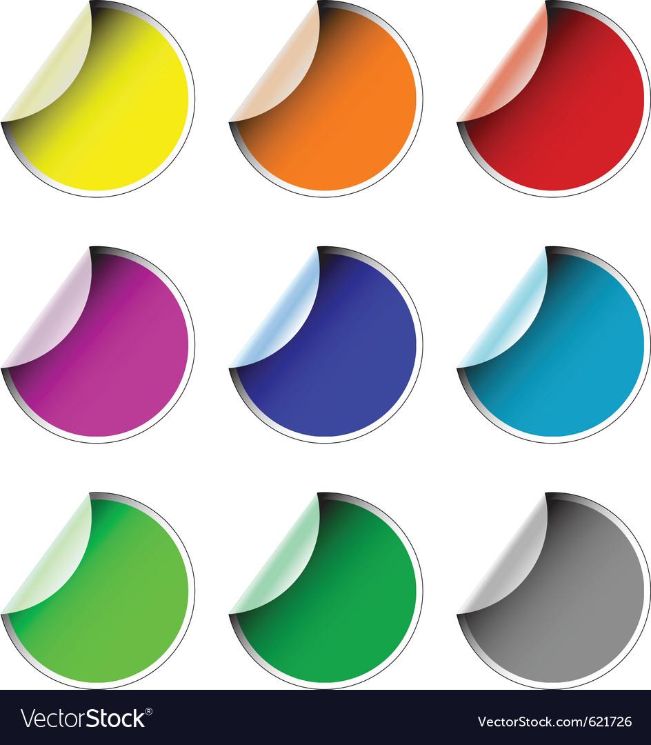 Labels badges vector | Price: 1 Credit (USD $1)