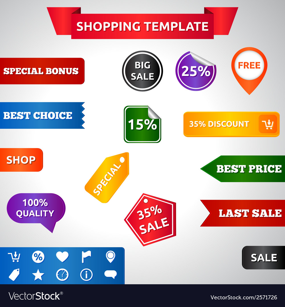 Sale template vector | Price: 1 Credit (USD $1)