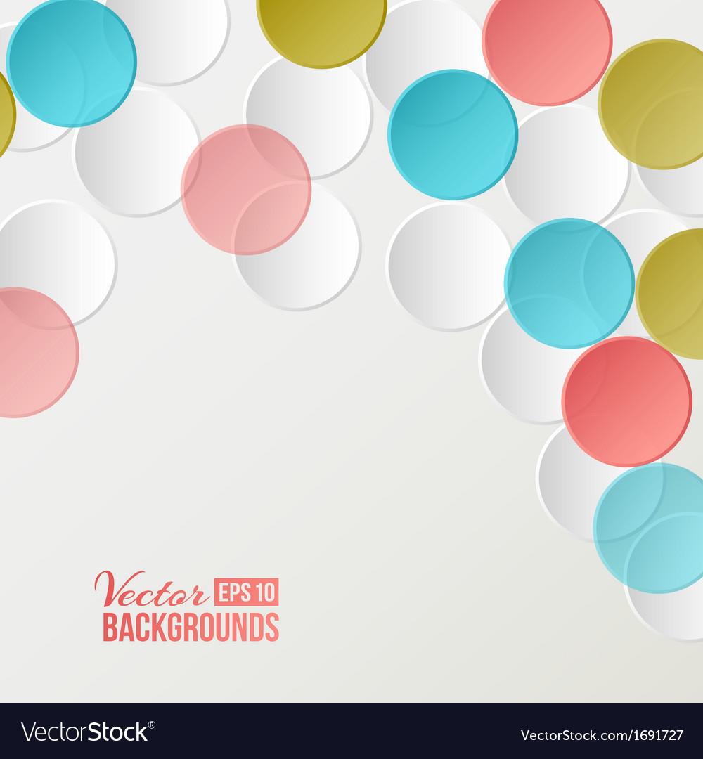 Confetti backdrop vector | Price: 1 Credit (USD $1)