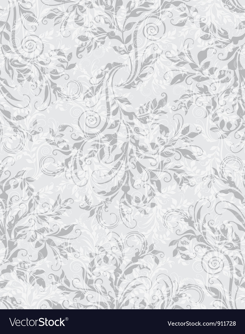 Elegant decorative floral seamless eps10 pattern vector | Price: 1 Credit (USD $1)