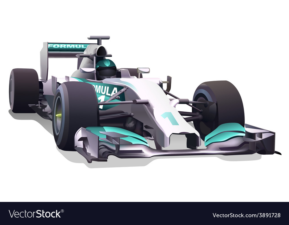 Formula one vector | Price: 3 Credit (USD $3)