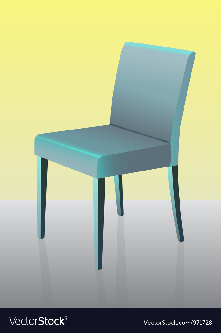 Modern dining chair vector | Price: 1 Credit (USD $1)