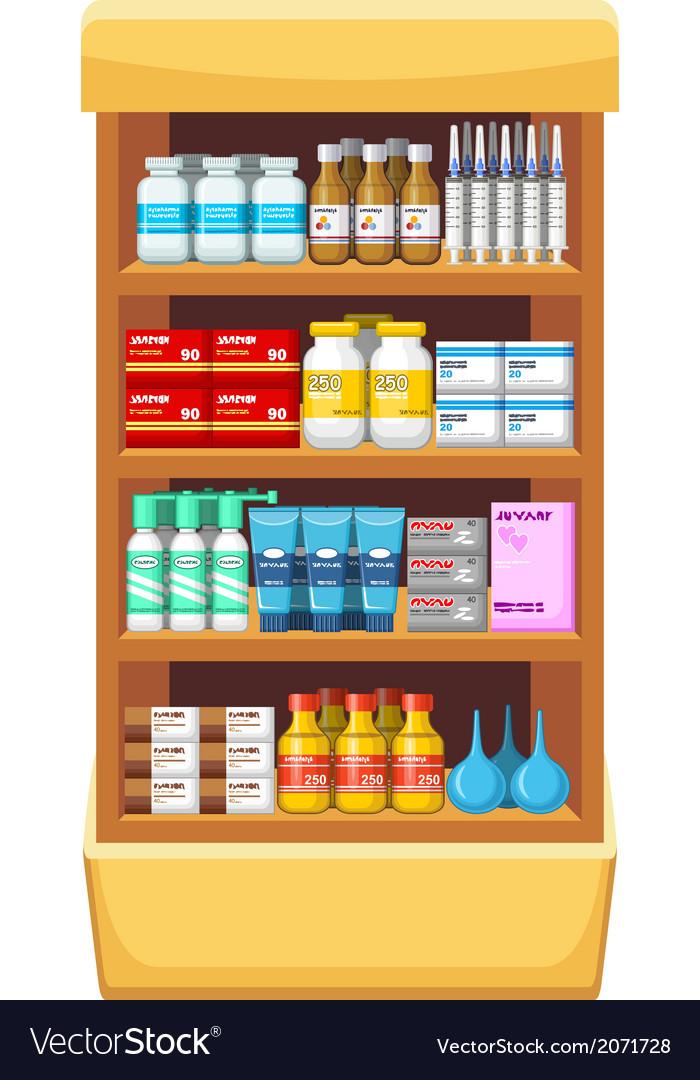 Pharmacy medicine vector | Price: 1 Credit (USD $1)
