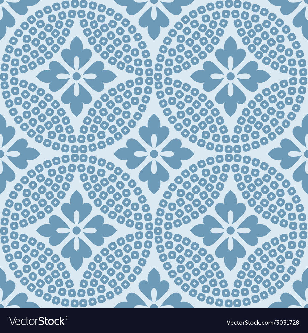 Seamless japanese traditional pattern background vector | Price: 1 Credit (USD $1)